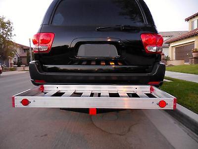 Tow Hitch Cargo Carrier Trailer SUV Car Back Automotive Aluminum Receiver