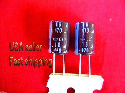 12 Pcs -  470uf 16v  Electrolytic Capacitors