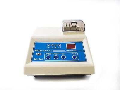 Dental Lab Amalgamator Digital High Speed Capsule Mixer Variable Speeds 115v