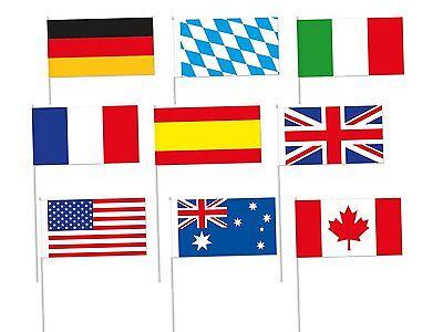 * LÄNDER FLAGGEN * Fahnen & Fähnchen aus Europa - Party Deko Winkelemente Set