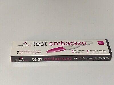 Test De Embarazo Auto-Diagnóstico En Un Solo Paso 99% Fiabilidad Salud Mujer