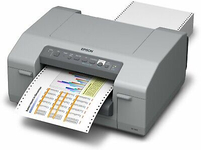 Epson Gp-c831 Colorworks 8 Color Label Printer Tractor Feed Usb Ethernet
