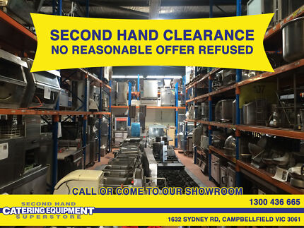 Second hand Commercial Catering Equipment Clearance - Campbellfield Hume Area Preview