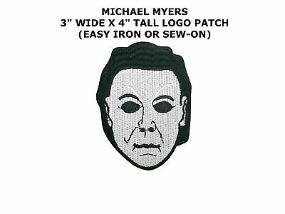 Halloween Michael Myers Mask Iron Patch 4