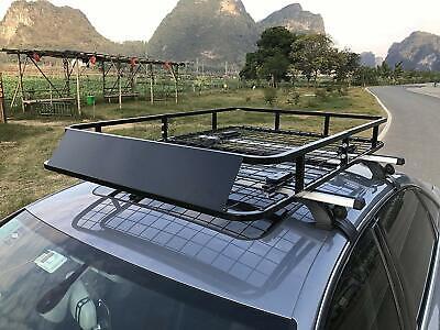 Universal Roof Rack Basket Car Top Luggage Carrier Cargo Holder Travel 48