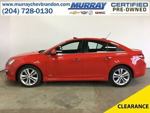 2015 Chevrolet Cruze 2LT RS Turbo FWD *Backup Camera* *Heated Le