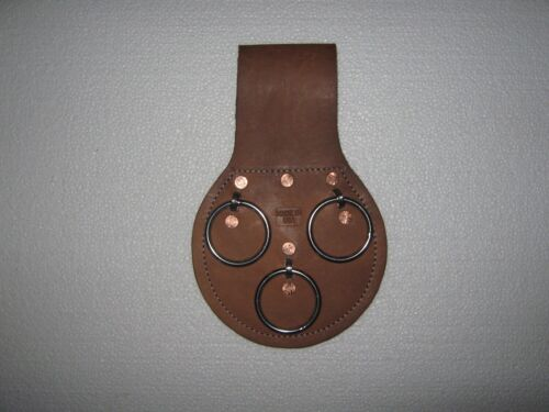 3 RING SPUD WRENCH HOLDER  WITH STAINLESS STEEL EYES.