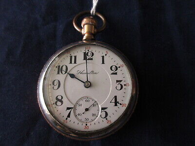 HIGH GRADE ANTIQUE HAMILTON 940 21 JEWEL RAILROAD GRADE POCKET WATCH