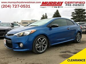 2015 Kia Forte Koup 1.6L Turbo SX *Backup Camera* *Heated Cloth*