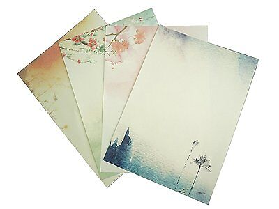 Bilipala Writing Stationery Paper, Letter Writing Paper Letter Sets, 32 PCS