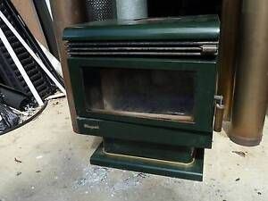 Masport slow combustion wood heater with flue Narangba Caboolture Area Preview