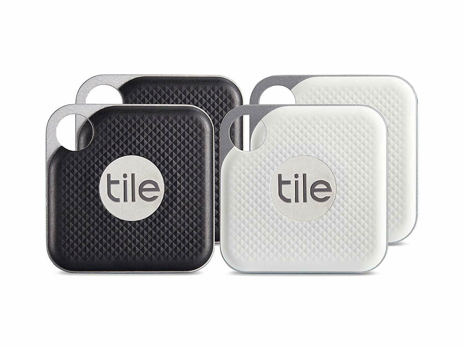 Tile Pro Combo Pack - Key Finder Bluetooth w/ Replaceable Ba