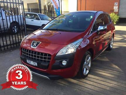 Peugeot 3008 AUTOMATIC *36 MONTHS WARRANTY +REGO +RWC+STAMP DUTY*