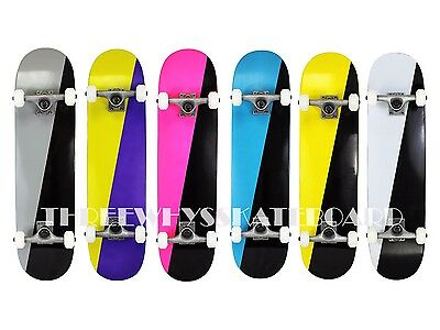 Full Canadian Maple Two-Tone DK Best QualityComplete Skateboard