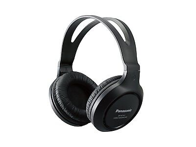 Panasonic Full-Sized Lightweight Long-Cord Headphones Headset - Black