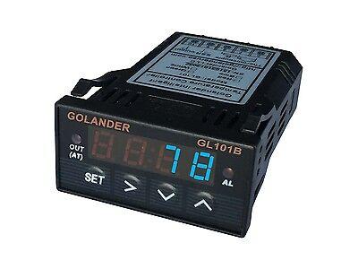 12v Dc Universal 132din Digital Fc Pid Temperature Controller Blue