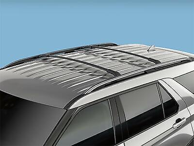 Genuine FORD Explorer Crossbar Roof Rack Kit - 2 Piece Kit - Ford 2020 Explorer Ford Explorer Racks