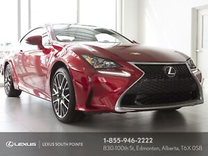 2016 Lexus RC 300 F SPORT Series 1 w/ navigation, backup came...