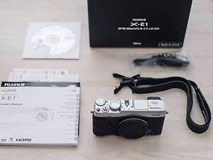 Fujifilm X-E1 Mirrorless Digital Camera (Body Only, Silver) Sydney City Inner Sydney Preview