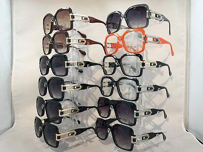 W8813 Hip Hop Rapper Star Fashion Men's Square Sunglasses Wholesale 12 (Hip Hop Sunglasses Wholesale)