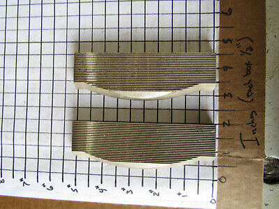 Pair Moulder Blades Bits Knives 516 Corrugated Back Shaper Router Profile