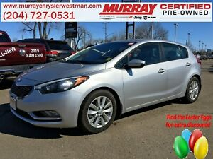 2015 Kia Forte 5-Door 2.0L Manual EX FWD *Heated Cloth*