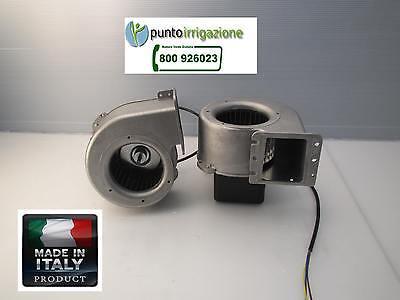 Ventilatore centrifugo aspiratore motore per caldaie a SANSA e STUFA A PELLET, usato usato  Masseria Bosco Colombo