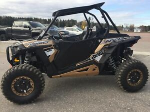 2017 POLARIS RZR XP 1000 EPS side by side