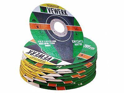 10 X Metal Cuttingslitting Disc Ultra Thin 115mm 4-12 X 1mm Fast Stainless