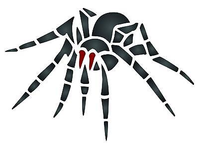 Halloween Spider Stencil Reusable Insect Bug Painting Template Wall Furniture](Halloween Spider Stencil)