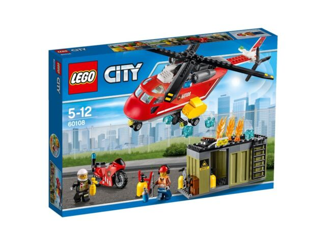 BRAND NEW LEGO CITY FIRE RESPONSE UNIT 60108 SEALED