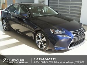 2017 Lexus IS 350 Executive w/ leather seat surfaces, 15-spea...