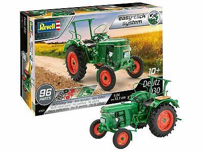 Revell Bausatz Deutz D30 / D 30 easy-click Model Kit 1:24 Art. 07821 Traktor