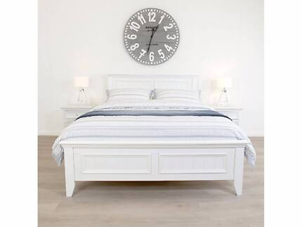 James Lane Mandalay Queen Bed Frame - Like New