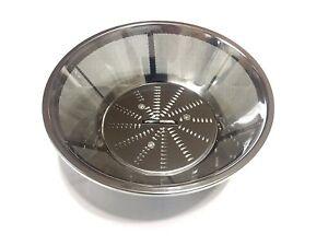 Steel Blade and Basket Filter for Breville BR-1 JE95XL, JE98XL, BJE200XL Juicers