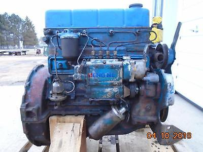 Ford Newholland 220 Engine Complete Fordson Major Diesel Fmd Running Core