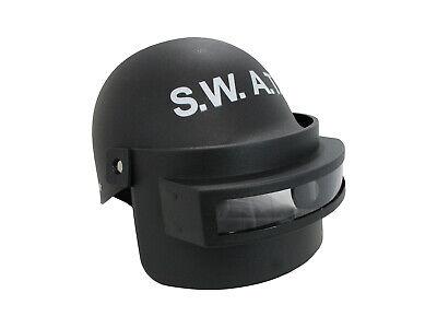 Adult Police S.W.A.T. Team Helmet Folding Face Mask PUBG Combat Tactical Costume