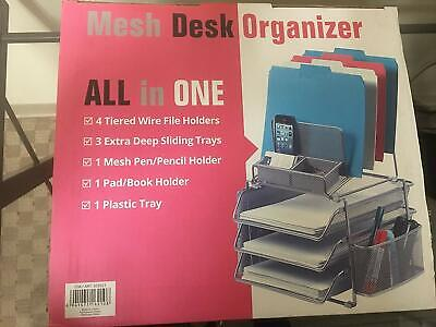 Nob - Designa All In One Mesh Desk Organizer