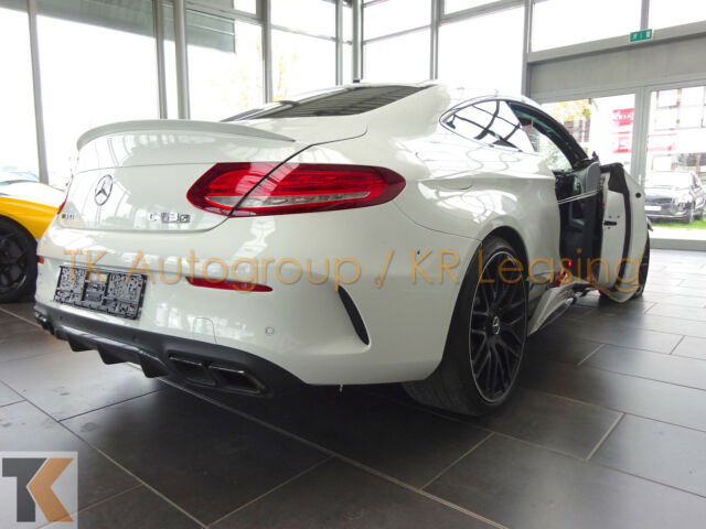 MERCEDES-BENZ C 63 S AMG Coupe *Driver's Package/HUD/ UNFALL*