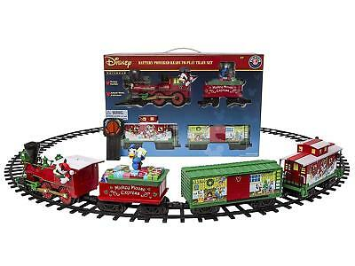 Train Set Motorized Christmas Toy Lionel Mickey Mouse Disney Ready to Play Kids