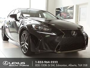2017 Lexus IS 350 F SPORT Series 2 w/ backup camera, power mo...