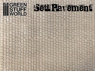 как выглядит Фигурка Reaper Rolling Pin - SETT PAVEMENT Texture - Create your own bases Warhammer Infinity фото