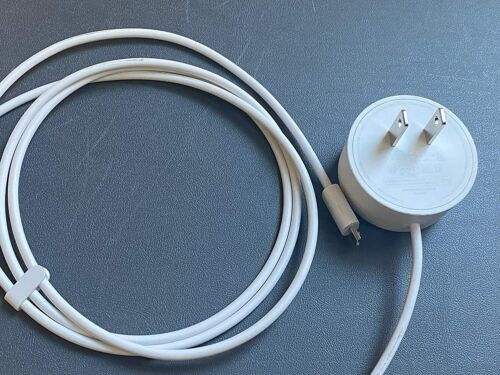 Google Home Mini Adapter Micro-USB Power Supply - White (W17-009N1A) 5-ft 1.8A