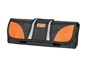 BAHCO 12 Pocket Fabric Hand Tool Screwdriver Chisel Storage Roll, 4750-ROCO-1
