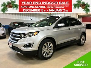 2017 Ford Edge Titanium AWD *Nav* *Blind Side* *Heat/Cool Leathe
