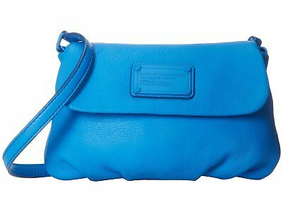 NWT $248 Marc by Marc Jacobs Electro Q Flap Percy Shoulder Bag Blue (Marc By Marc Jacobs Classic Q Flap Percy)