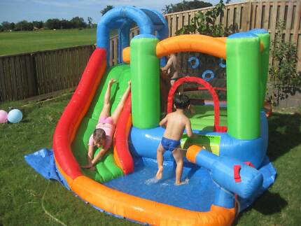 Kids inflatable water park - outdoor water toy