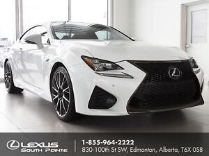 2015 Lexus RC F Performance w/ carbon fiber roof, backup came...