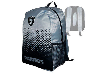 Rucksack grau NFL Backpack Tasche Schultasche 45x35x15cm (Oakland Raiders Fans)