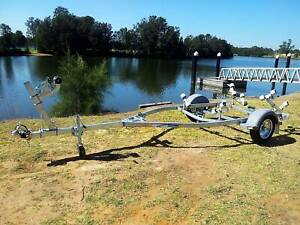 GAL BOAT TRAILER SUITS UP TO 4.75 mt ALUMINIUM HULL 200 kg TARE Erina Gosford Area Preview